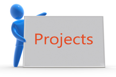 Ongoing projects icon